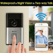 Digoo Wireless Bluetooth WiFi Smart Home HD Video DoorBell IR Camera Ring P2P