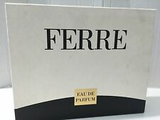 Gianfranco Ferre ferre set 3.3oz  Women's Eau de Parfum,6.7 body lotion , mini