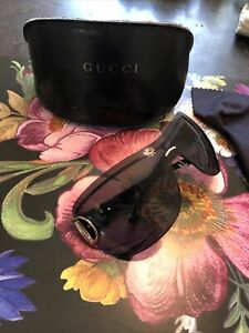 Gucci Horsebit Shield Sunglassses