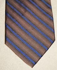ROBERT TALBOTT New Nordstrom Brown Stripe Silk Tie Men Handmade Wide Necktie NWT
