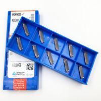KORLOY MGMN200-T PC5300 2.0mm Cut-Off CNC Grooving insert Carbide inserts 10Pcs