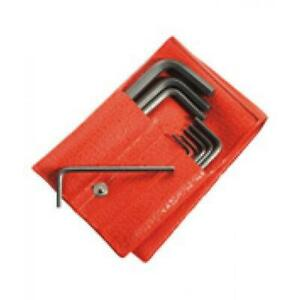 """Facom 8pc Long Reach Ball End Ended Hexagon Hex Key Set Imperial 3/32"""" - 3/8"""" AF"""