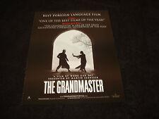 THE GRANDMASTER 2013 Oscar ad Tony Leung, Zhang Ziyi, Chang Chen, Wong Kar-wai