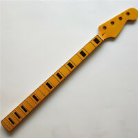 Black Block Precision/P Bass style 4 string 20 fret Maple bass neck Replacement