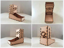 foldable & portable dice tower warhammer warmachine PRG board games 30 patterns