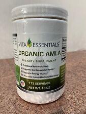 Vita Essential Organic AMLA Supplement Heart Health Energy Herb Powder