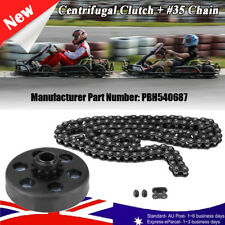 3/4'' Centrifugal Clutch 12Tooth #35Chain Kit for Go Kart Mini Bike 6.5HP Engine