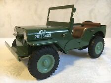 "ITOS  WILLYS JEEP MB  U.S. Army  Blechspielzeug ""Friction Drive"" (18 cm) TOP!!"
