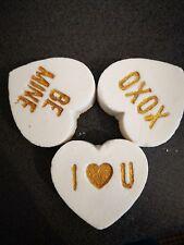 Love heart Bath Bombs Christmas, Birthday, Stocking Filler valentines gift