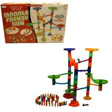 Ragazzi Ragazze Bambini giocattolo crea il tuo Design Marble Frenzy Run gioco Helter Skelter