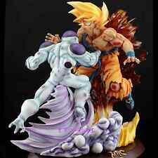 official-DBZ-MRC DRAGON BALL-SSJ Goku VS Frieza Resin statue figure-rare