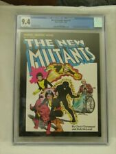 Marvel Graphic Novel 4 CGC 9.4 NM White First Appearance And Origin New Mutants