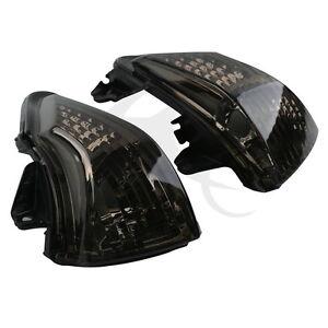 Black Lens Turn Indicator Signal Winker For Kawasaki ER6N ER6F ER6R 2009-2011