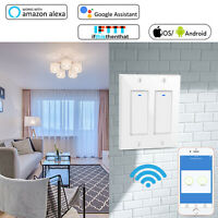 Smart Life WIFI Light Wall Switch Gang Remote Control Alexa & Google Home IFTTT