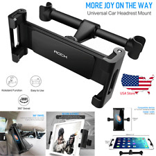 360° Mount Holder Car Back Seat Headrest Stand For iPhone 11 iPad Samsung Tab A