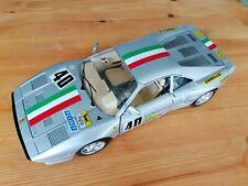 Ferrari 288 GTO rally edition silver #40 1:18 Bburago very rare model Italy