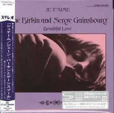 JANE BIRKIN-JANE BIRKIN & SERGE GAINSBOURG-JAPAN MINI LP SHM-CD Ltd/Ed G00