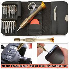 16 in 1 Screwdriver Set & Bits Mobile Phone Repair Tool Kit for iPhone Samsung
