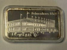"""Silberbarren 1 UC 999,0 Fine Silber Degussa """"Palmenhaus 1869"""""""