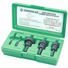 Greenlee 635 Hole Saw Sets Carbide Tipped Hole Cutter Kit