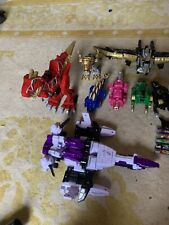 Power Rangers Dino Charge Megazords-lot Of 4