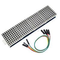 dot matrix mcu kontrolliert led-display modul max7219 für arduino - himbeere pim