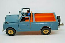 1st Issue 1:32 Britains 9676 LWB LAND ROVER Farm Vehicle w/ STEERING & DRIVER