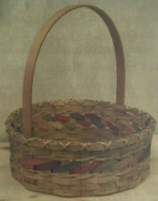Basket Weaving Pattern Spring Basket by Julie Kleinrath