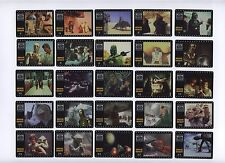 Star Wars Trilogy Complete 50pcs Movie Shot Cells Smiths '97 RARE FREE SHIPPING
