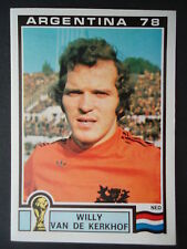 Panini 122 Willy van de Kerkhof Niederlande WM 78 World Cup Story