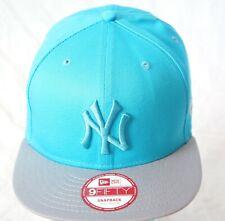 new Era snapback caps, NY baseball hats, 9fifty ice blue new flat peak hip hop