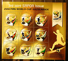 Zimbabwe 2010 SAPOA / Fifa World Cup Mini-Sheet, MNH