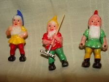 Vintage Wilton Cake toppers of Gnomes