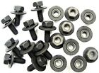 Toyota Body Bolts Barbed Nuts- M6-1.0 X 16mm Long- 10mm Hex- 20 Pcs- 376