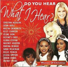 Women of Christmas Do You Hear What I Hear? Holiday Party Music CD Country