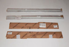 NEW GENUINE VW CADDY 2K SET OF FOUR MOULDINGS PRIMED AND GLOSS 2K5898511D SWB