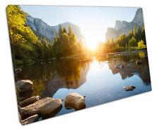 Yosemite art. a muro Lago foto di grandi dimensioni 75 x 50 cm