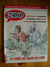 ZOO magazine culturel BD salon livre 2016 - DISNEY