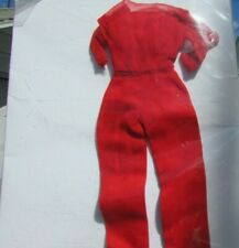 Vintage Barbie Doll Clothes Hostess Set Red Jumpsuit #1034 Rare Original 1965
