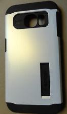 Used NO KICKSTAND INCLUDED Spigen Slim Armor White Case Samsung Galaxy S6 Edge