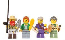 LEGO® Ninjago™ Set of 4 figures - 70751 - Misako Jesper Claire & Postman