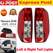 2X Tail Lights Fit Nissan Navara Frontier D40 2005-2014 ST STR STX RX Rear Lamps