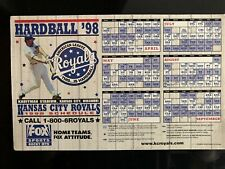 20 year old Kansas City Royals 1998 Vintage Schedule Magnet (Two)