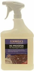 Fenwicks Re Proofer for Awnings and Tents 1 Litre Spray Gazebo Waterproof