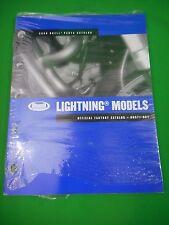 New Buell 2006 Factory Parts Catalog Lightning Model # 99571-06Y OEM