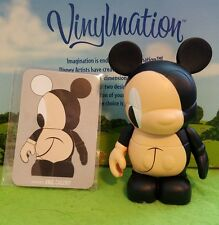 "Disney Vinylmation Park - 3"" Urban Set 6 Sideways Mickey Mouse with Card"