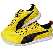 eb8389941d33 PUMA Ferrari Everfit 10 Trainers Shoes US 11 Yellow Black Used Mens