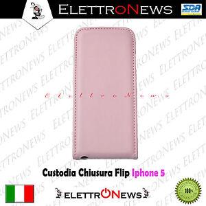 Custodia Cover fodero con chiusura flip Iphone 5