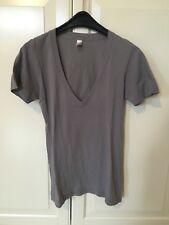 t shirt mit v ausschnitt XXS american apparel