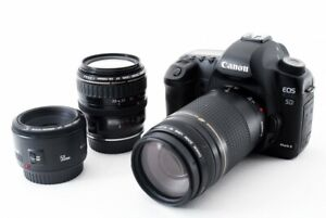 Canon EOS 5D Mark II 21.1MP 50/28-105/75-300mm [Exc w/8GB,Strap Japan [065]